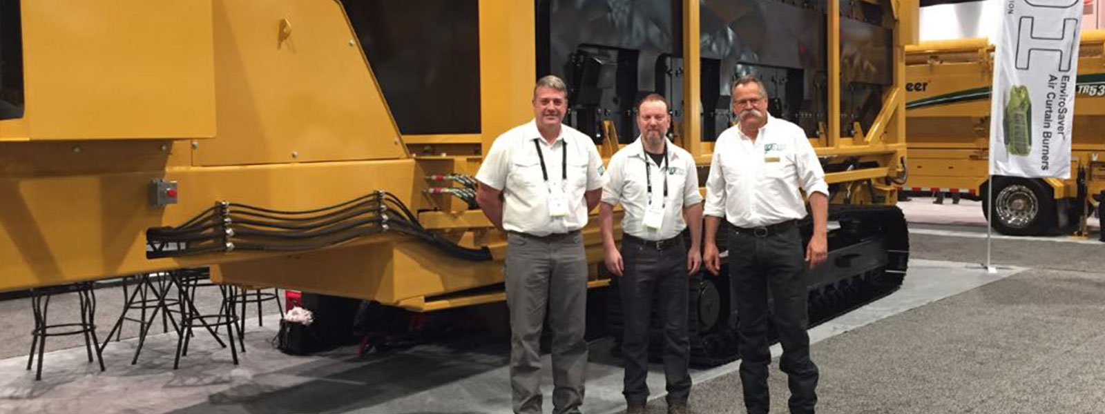ROI Attends WasteExpo With New State Of The Art Wood Processing Equipment