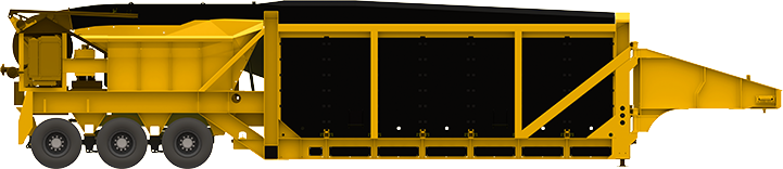 ENVIROSAVER 400 air curtain carbonizer roi equipment